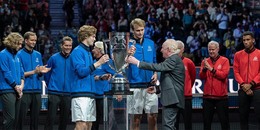 Рублев — о победе на Кубке Лэйвера: «Счастлив быть частью этой невероятной команды!»