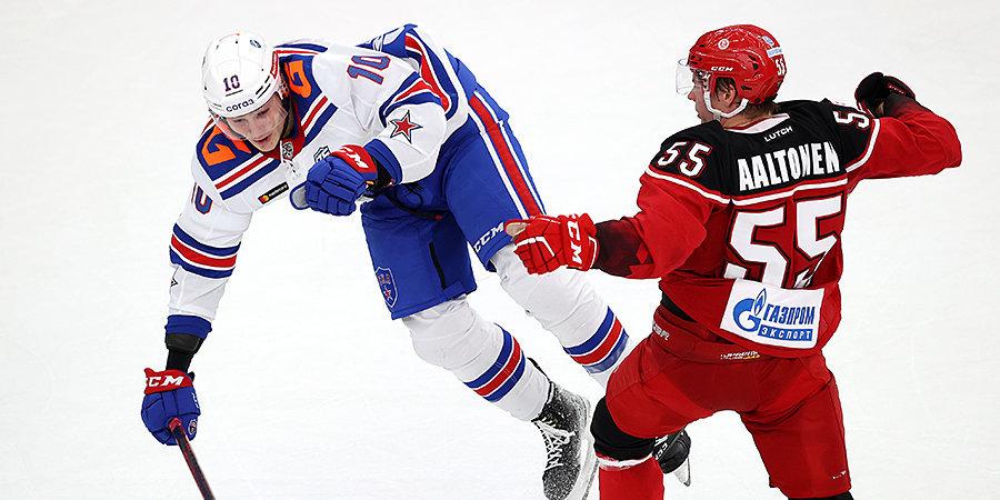 «Витязь» обыграл дома СКА впервые с 2009 года