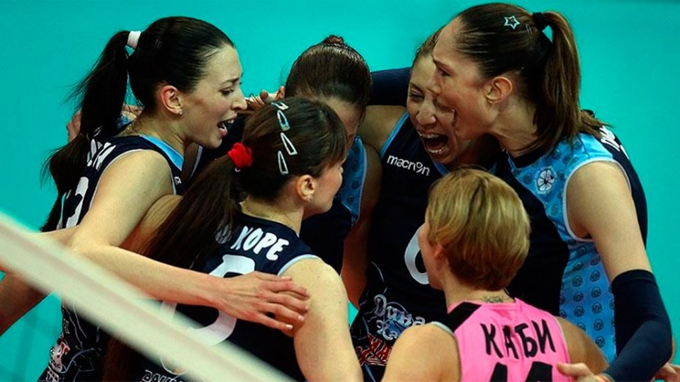 Волейболистки казанского «Динамо» досрочно выиграли регулярный чемпионат России