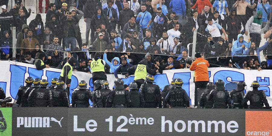 Власти Франции запретили болельщикам «Марселя» посещать гостевой матч с «Лиллем»
