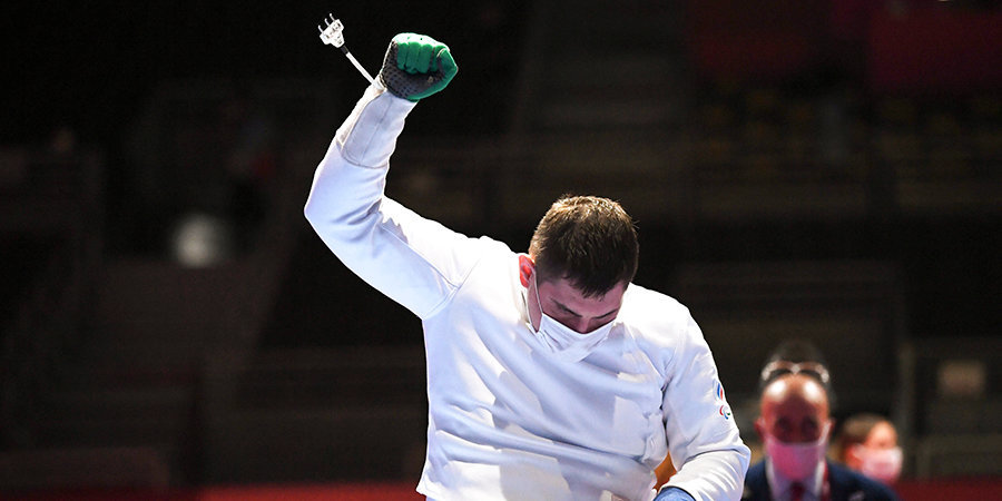 Шпажист Кузюков стал паралимпийским чемпионом Токио