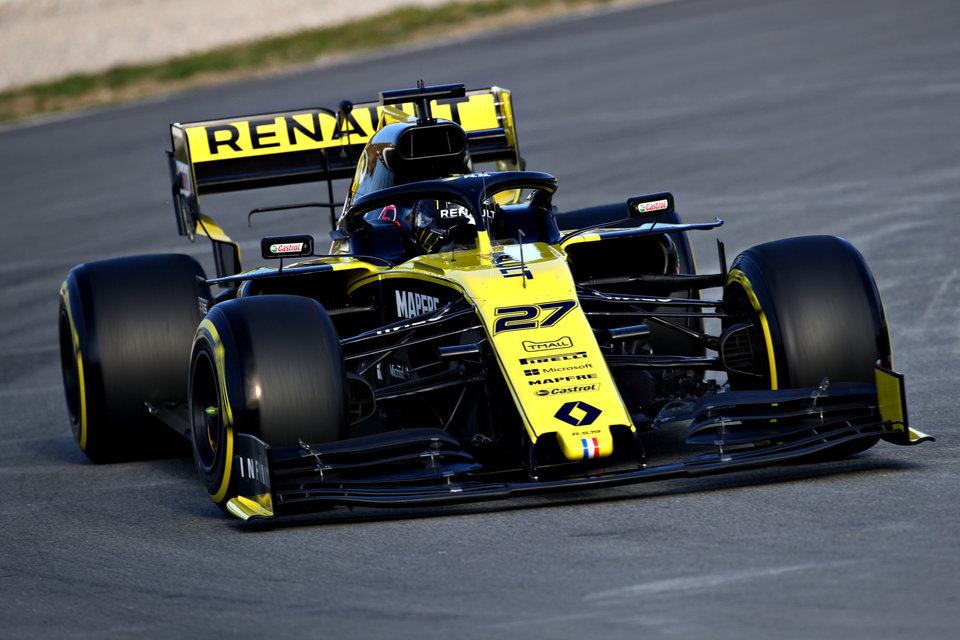 Хюлкенберг лишится пяти позиций на старте Гран-при Австрии