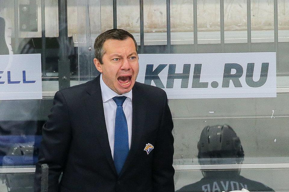 Воробьев отправлен в отставку с поста главного тренера «Металлурга»