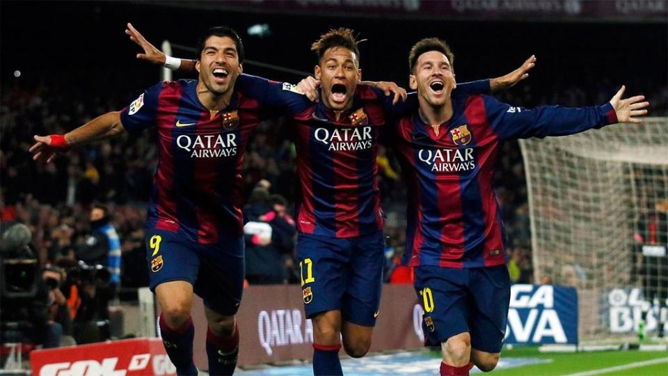 Месси, Суарес и Неймар — в атаке «Барселоны» на матч с «ПСЖ»