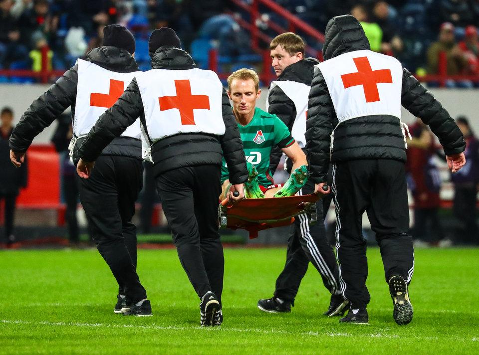 Игнатьев избежал серьезной травмы в Мадриде