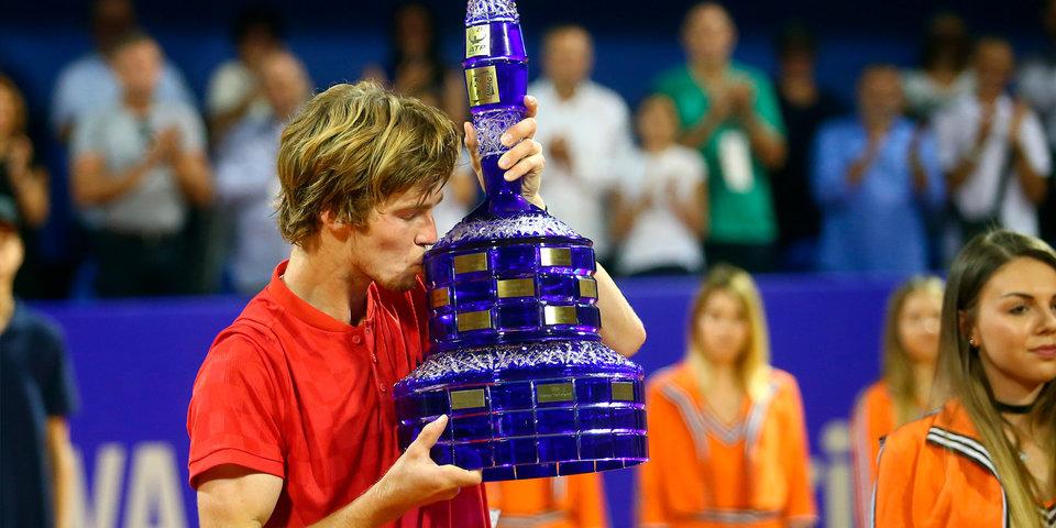Рублев после победы в Хорватии ворвался в топ-50 рейтинга ATP
