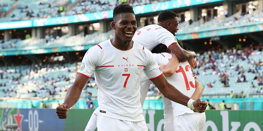 Эмболо признан лучшим игроком матча Уэльс — Швейцария