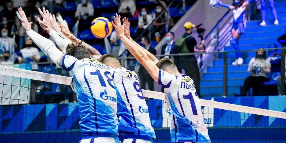Петербургский «Зенит» обыграл «Динамо-ЛО» и поднялся на второе место в Суперлиге