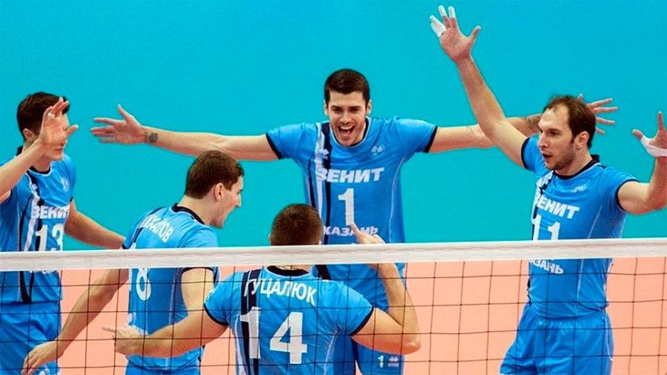 «Белогорье» и «Зенит» встретятся в плей-офф Лиги чемпионов