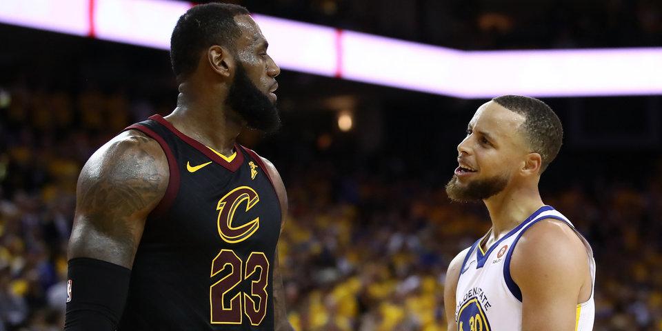 «Голден Стэйт» одержал вторую победу над «Кливлендом» в финале НБА