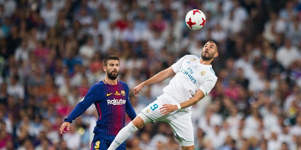 «Реал» вновь обыграл «Барселону» и взял Суперкубок Испании: голы и лучшие моменты