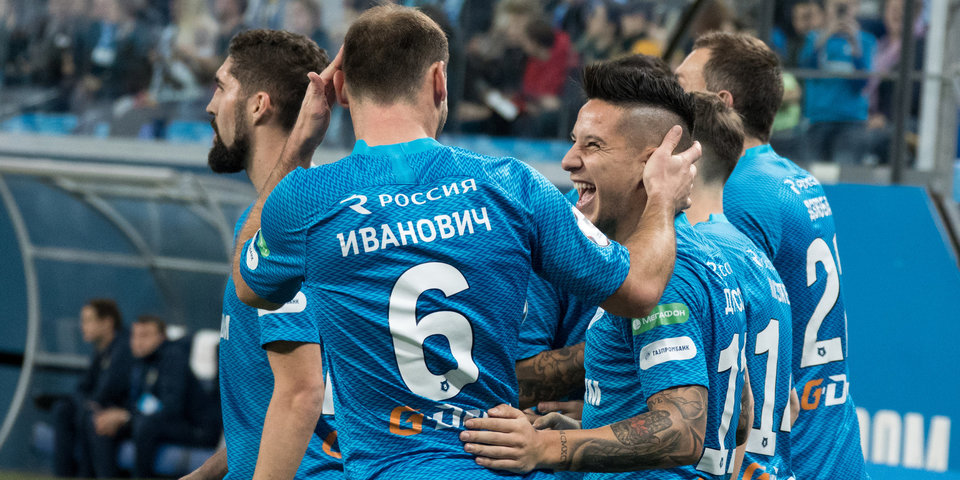 «Зенит» победил «Ростов» и сохранил отрыв от конкурентов