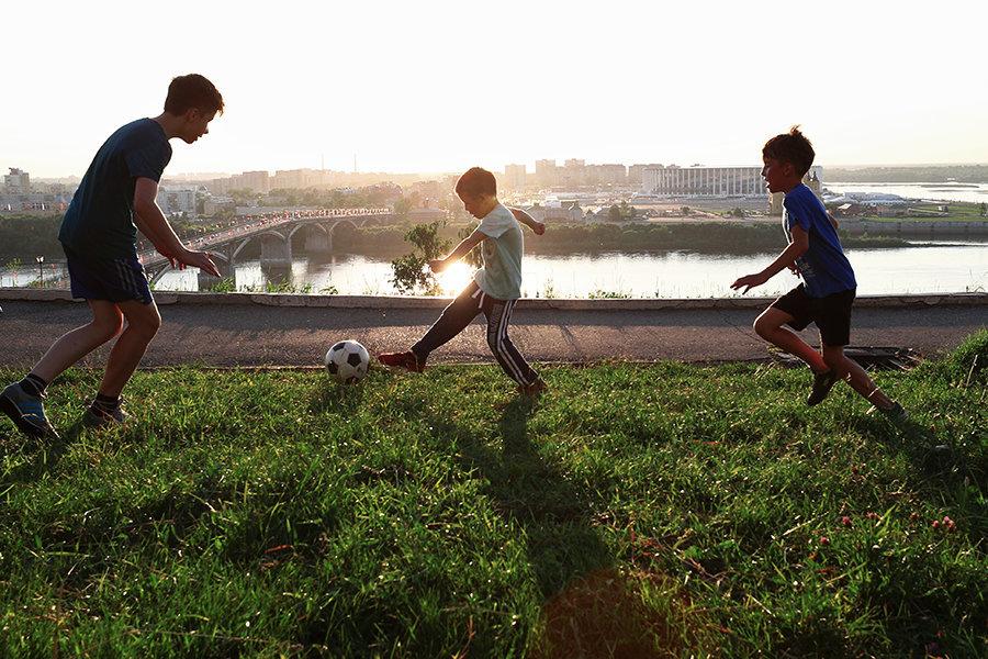 Тренировочные площадки ЧМ-2018 адаптируют для детского футбола