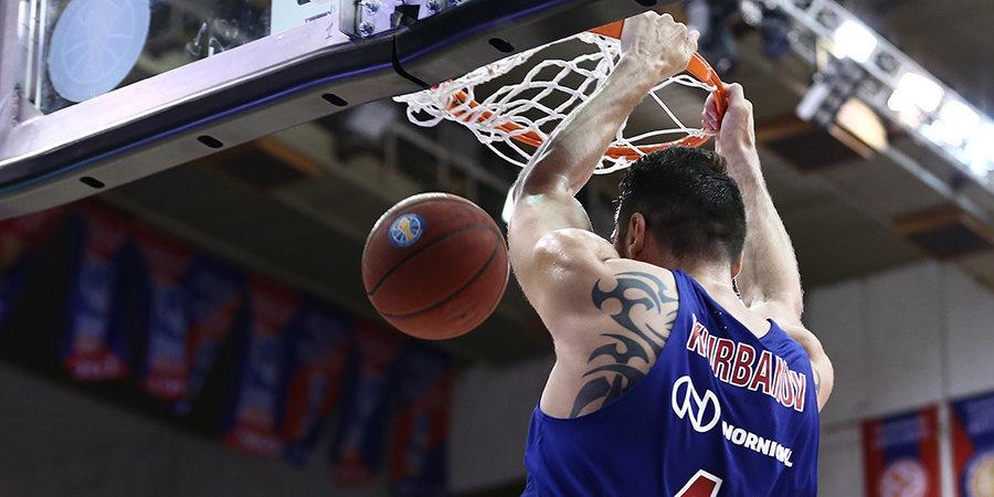 Никита Курбанов: «Баскетболистам ЦСКА предстоит еще много работы»