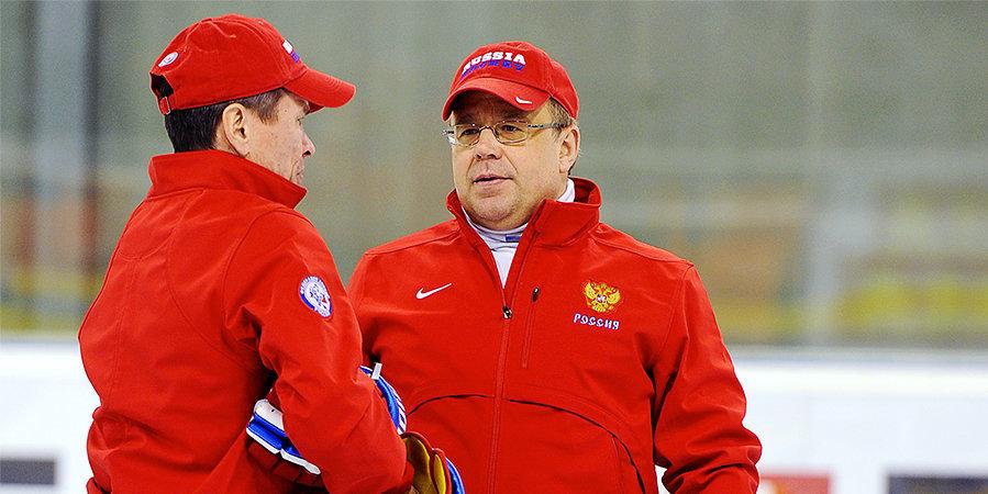 «Готов ли я поработать с Быковым в сборной России на Олимпиаде? Вопрос не ко мне». Поговорили с Игорем Захаркиным