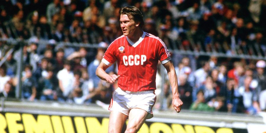 Блохин претендует на звание лучшего левого нападающего в истории футбола