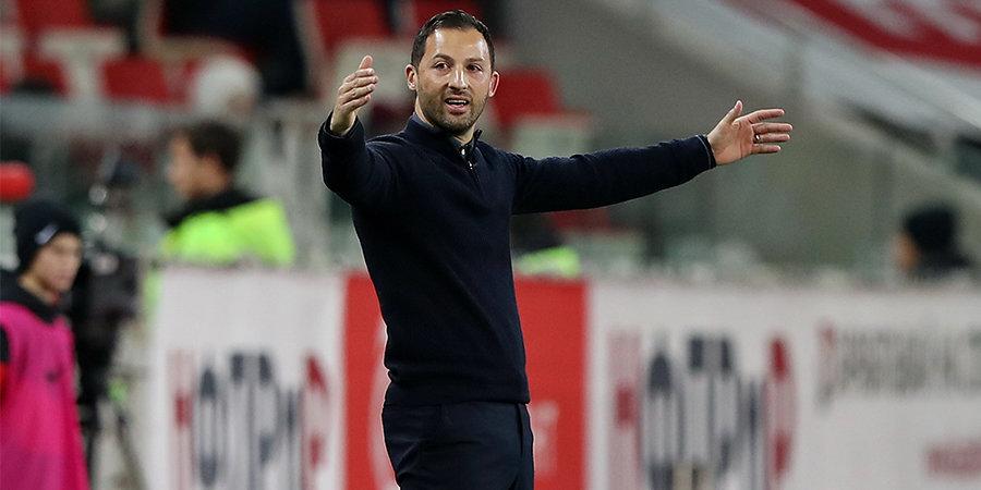 Тедеско допустил 3 ошибки еще до игры с «Арсеналом». Поэтому «Спартак» проиграл