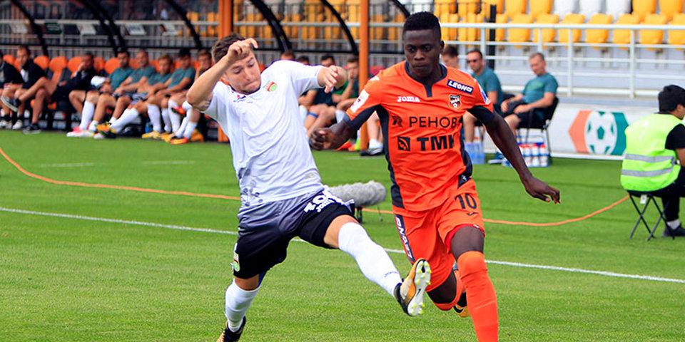 «Уфа» не удержала победу в Екатеринбурге