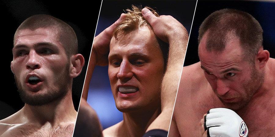 Все российские бойцы в UFC. Самая полная статистика