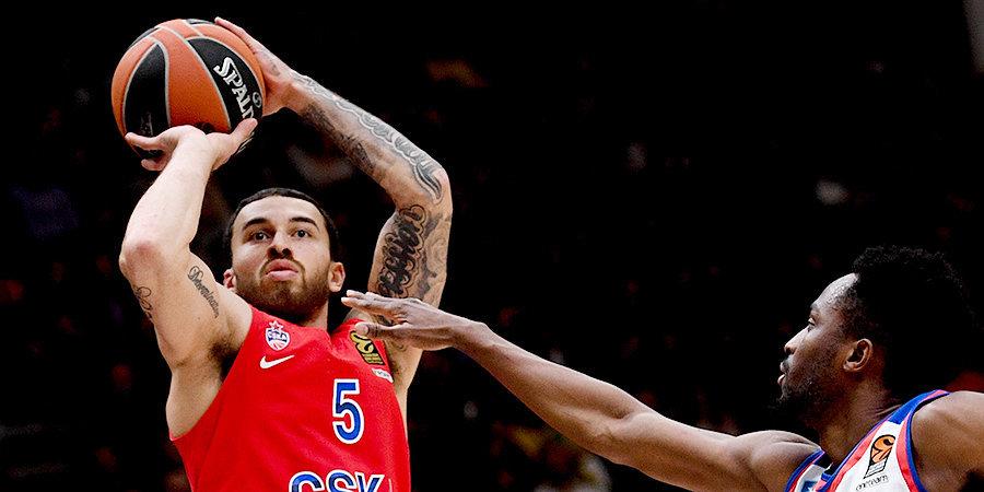 СМИ: ЦСКА разрешил американским баскетболистам покинуть Россию