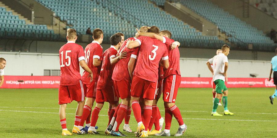 Голы Глушенкова и Дивеева помогли молодежной сборной Росии победить Болгарию