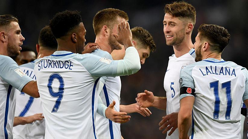 Прямая трансляция Англия – Словения. ЧМ 2018. Отборочный тур