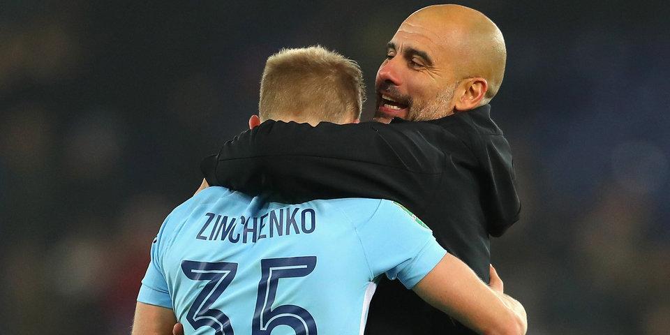 Хосеп Гвардиола: «Зинченко может сыграть в «Сити» на опорной позиции»