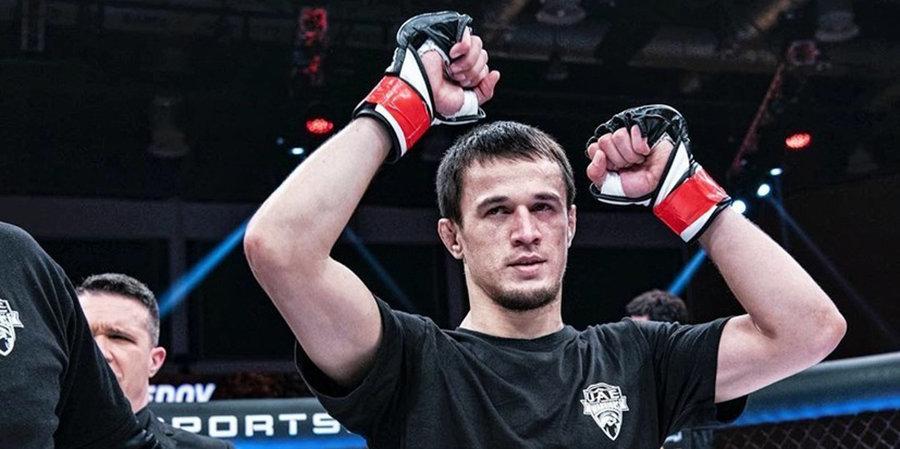 Стал известен соперник Усмана Нурмагомедова в дебютном бою в Bellator