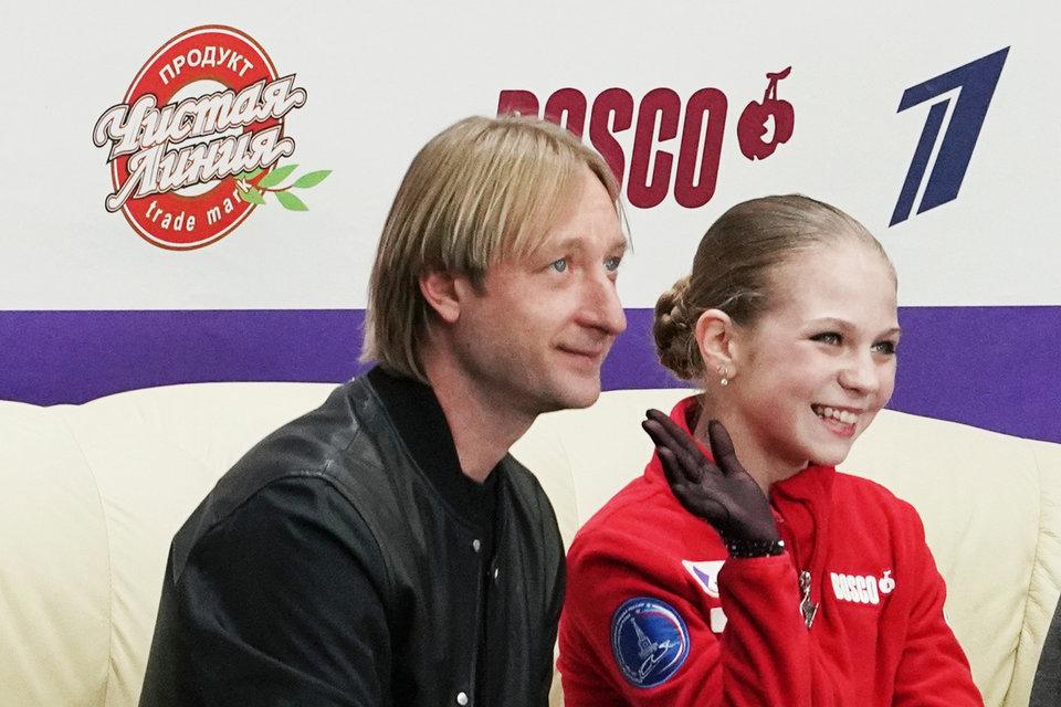 Елена Радионова: «Судя по прогрессу Трусовой, у нее с Плющенко сложился хороший тандем»
