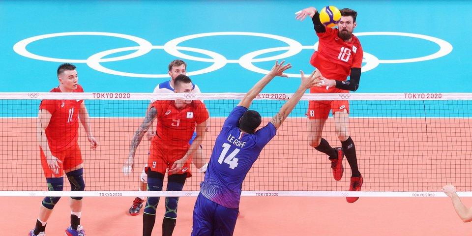 Сборная России по волейболу уступила Франции и завоевала серебряные медали Олимпийских игр