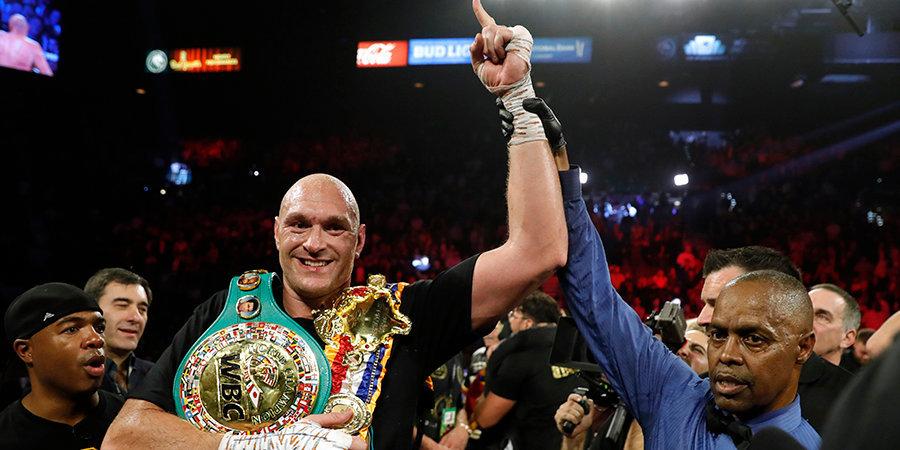 В WBC назвали условие проведения третьего боя между Фьюри и Уайлдером