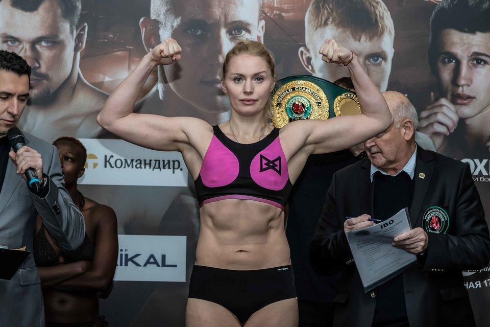 Кулакова защитила титул чемпионки мира по боксу
