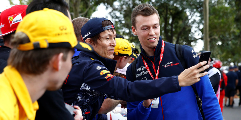 Даниил Квят: «С нетерпением жду Гран-при Китая!»