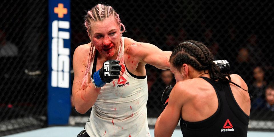 «Не больно, но чувствуешь, что нос ушел в сторону». Боец UFC Яна Куницкая рассказывает про свой перелом