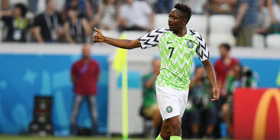 Главный тренер сборной Нигерии считает, что Муса придает уверенности всей команде