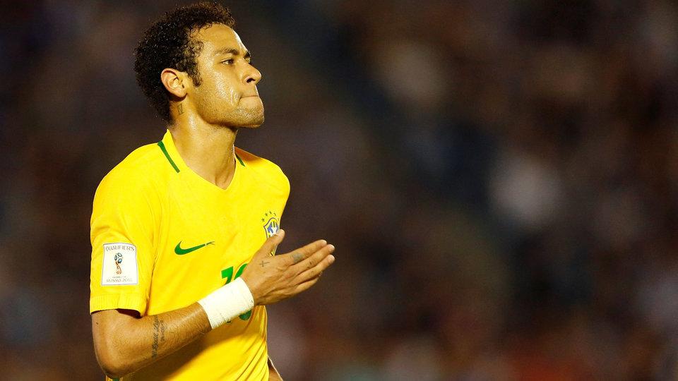 Неймар: «Желаю удачи российским футболистам, только не против моей Бразилии»