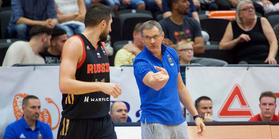 РФБ утвердила Базаревича напосту наставника мужской сборной РФ