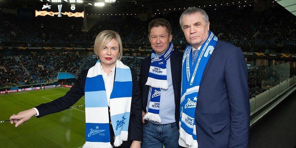 Председатель совета директоров «Зенита» Илюхина стала президентом Федерации футбола Санкт-Петербурга