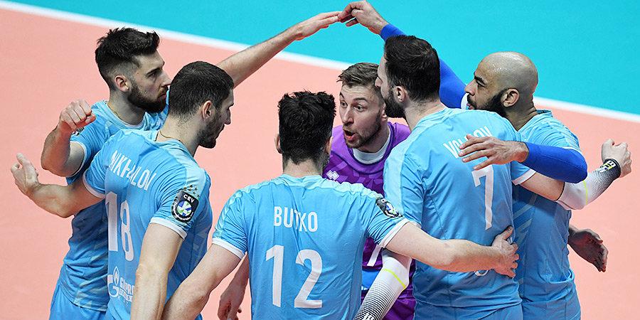 Казанский «Зенит» вышел в полуфинал Лиги чемпионов