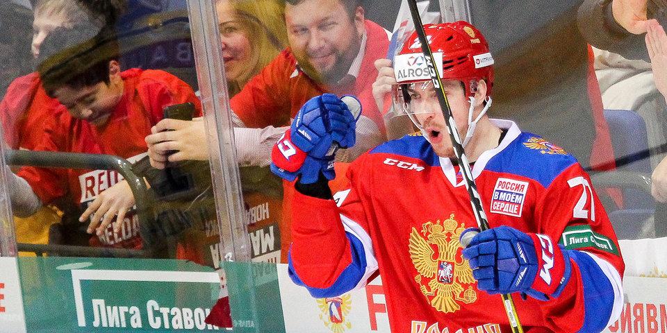 Сборная России переиграла шведов в Москве