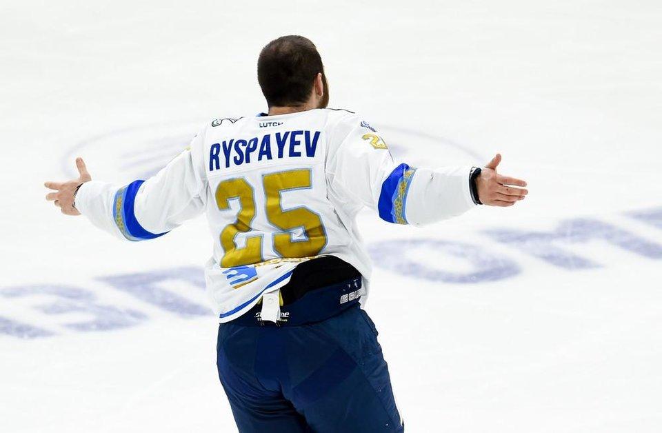 Рыспаеву разрешено месяц играть в ВХЛ, КХЛ может снять дисквалификацию