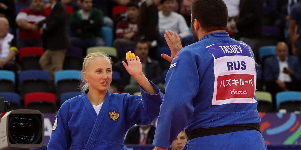 У сборной России – 4 медали. В Баку завершился ЧМ по дзюдо