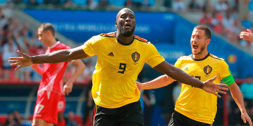 Лукаку упрочил лидерство в списке бомбардиров сборной Бельгии
