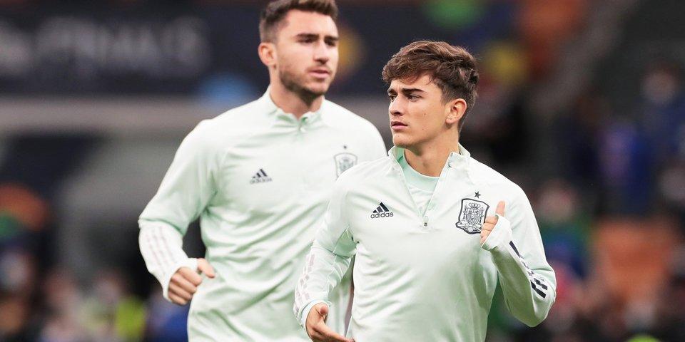 Гави —  самый молодой игрок в истории сборной Испании