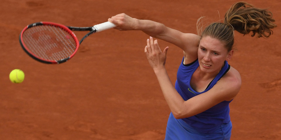 Александрова проиграла Плишковой на турнире в Чехии