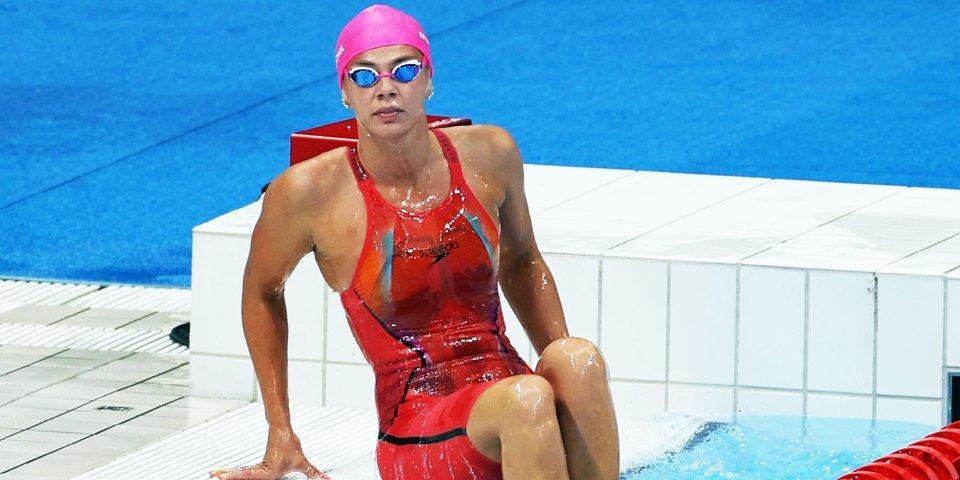 «Говорю себе: «Юля, это Олимпиада! Утром надо плыть быстро!» Расклады и комментарий Ефимовой после стометровки брассом