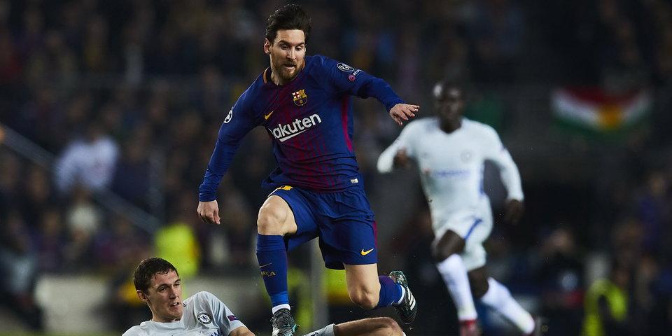 «Челси» на равных играл с «Барселоной», а Месси творил историю. Голы и лучшие моменты