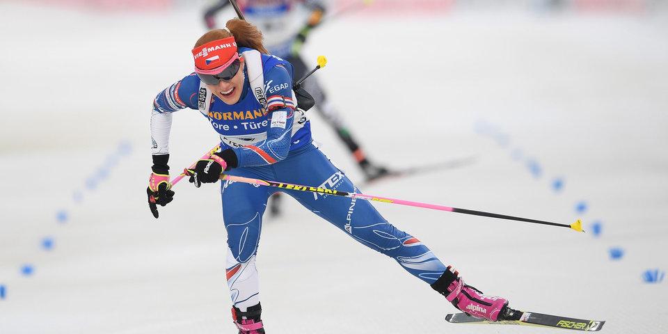 Коукалова тренируется вместе со сборной Чехии