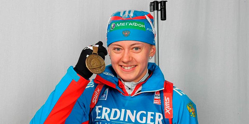 Ольга Вилухина: «Зря радуется чешская биатлонистка, я свои медали не отдам»