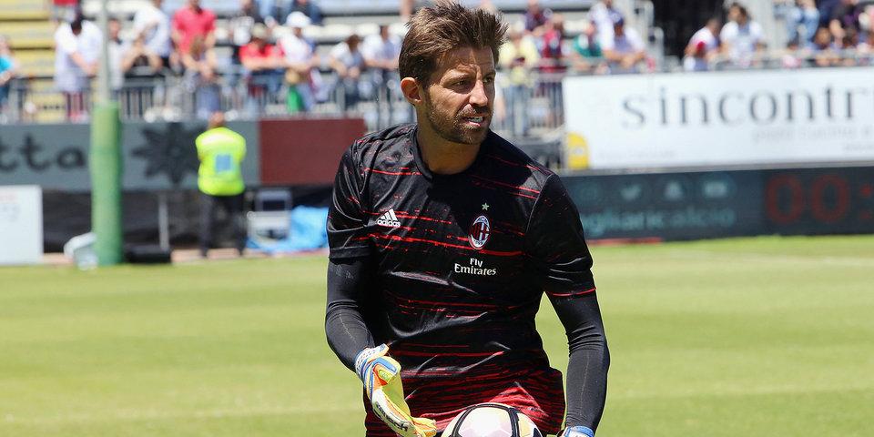 «Милан» продлил контракт с 40-летним вратарем
